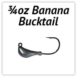 ¾oz Banana Bucktail